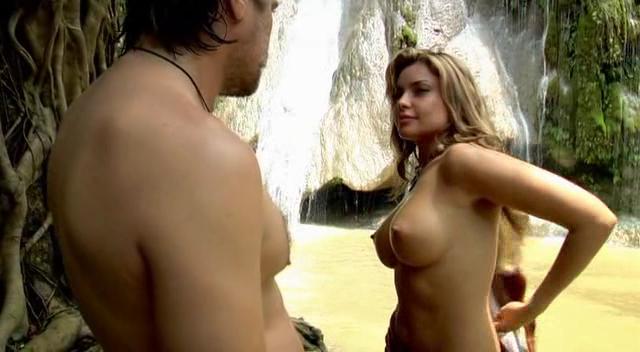 Порно эротический фильм приключения в джунгли дрочит свой